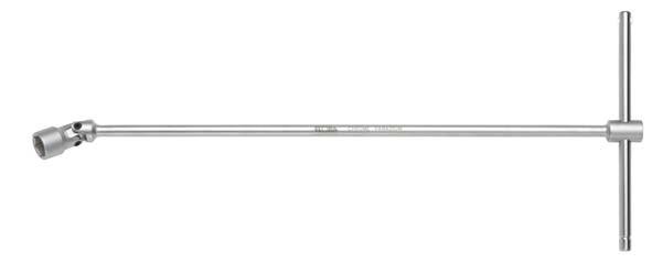 Gelenksteckschlüssel mit T-Griff, ELORA-236-LM 10 mm