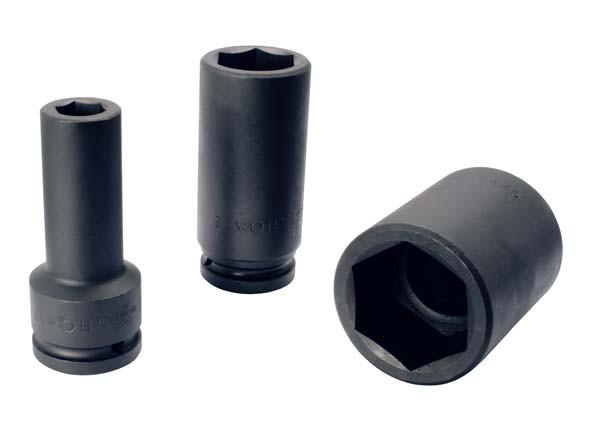 "Kraftschraubereinsatz 3/4"", extra tief, 6-kant, ELORA-791LT-36 mm"