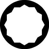 """Steckschlüssel-Satz 3/4"""", zwölfkant, 14-teilig 7/8""""-2"""" AF, ELORA-770-S10 AZ"""