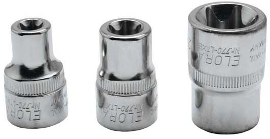 "Steckschlüssel-Einsatz 1/2"", TORX®, ELORA-770-LTXE 10 mm"