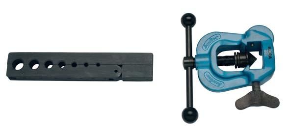 Bördelgerät mit Spannbacke, für Rohre von 4-14 mm, ELORA-241-1