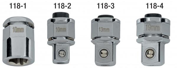 """Adapter 1/4"""" für Ratschenringschlüssel, ELORA-118-1"""