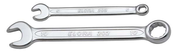 Ringmaulschlüssel, extra kurz, ELORA-202-4,5 mm