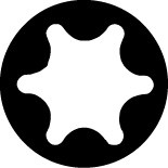 "Steckschlüssel-Satz 1/4"", TORX®-Sicherheits-Schrauben , 21-teilig, ELORA-1430-TTXEU"