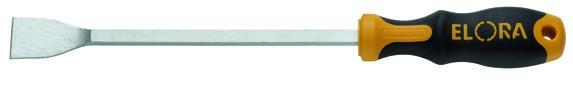 Dichtungs-Flachschaber gekröpft, ELORA-290-80G