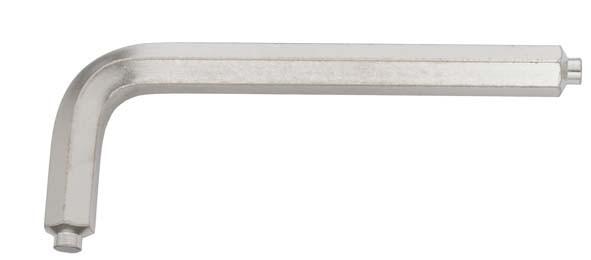 Winkelschraubendreher mit Zapfen, ELORA-159Z-3 mm