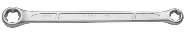 Doppelringschlüssel für Außen-TORX®-Schrauben, ELORA-119TXE-20x24 mm