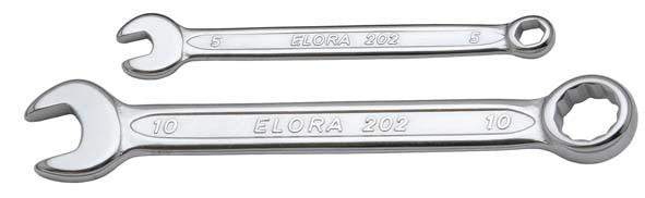 Ringmaulschlüssel, extra kurz, ELORA-202BA-6