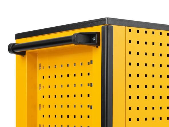 kantenschutz f r werkzeugwagen super caddy und tooljet elora 1220 rw 4022989142683 online. Black Bedroom Furniture Sets. Home Design Ideas
