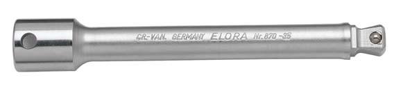 """Verlängerung 3/8"""", schwenkbar, 125 mm, ELORA-870-35V"""