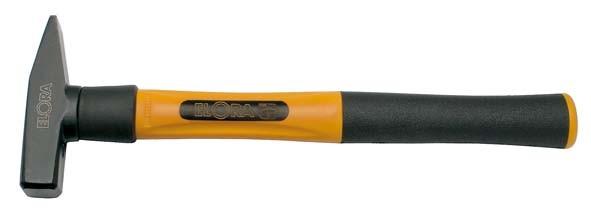 Schlosserhammer mit 3-Komponenten-Hochsicherheitsstiel, 500 Gramm, ELORA-1665K-500