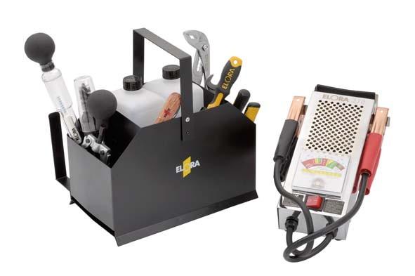 Batteriedienst-Werkzeugsatz, 11-teilig, ELORA-240 S12