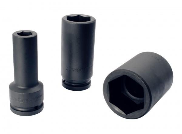 "Kraftschraubereinsatz 3/4"", extra tief, 6-kant, ELORA-791LT-19 mm"