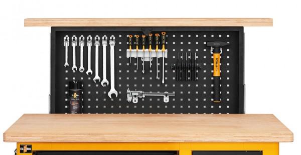 Ausfahrbare Werkzeugwand für Werkbank 1820-LOT, ELORA-1821 (Nur die ausfahrbare Rückwand)