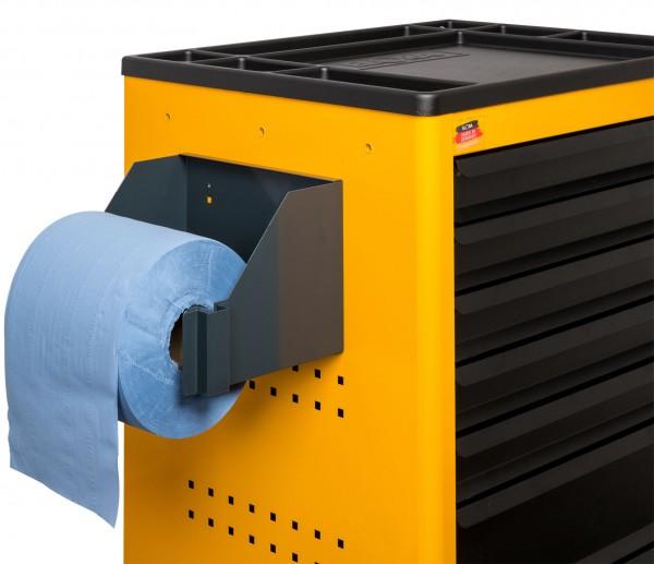 Papierrollenhalter für Werkzeugwagen Super Caddy und ToolJet, ELORA-1220-PH