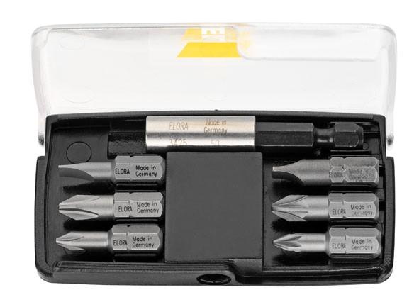 Bit-Box, 7-teilig, ELORA-3451-S7