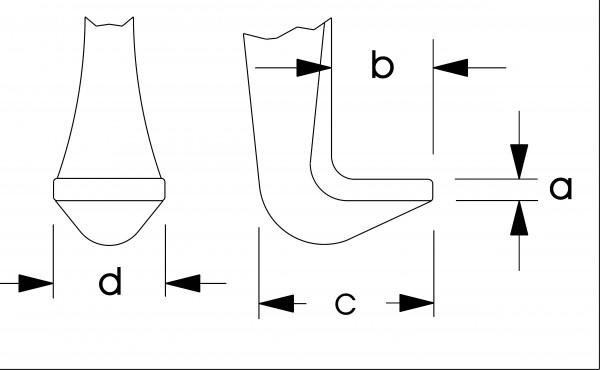 Batteriepolklemmen-Abzieher, Spannweite 10-60 mm, ELORA-174-50