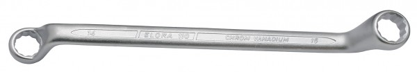 Doppelringschlüssel DIN 838, ELORA-110-13x14 mm