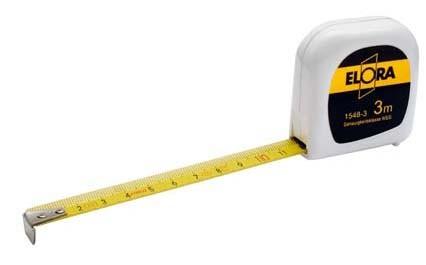 Rollen-Bandmaß, 3 Meter, ELORA-1548-3