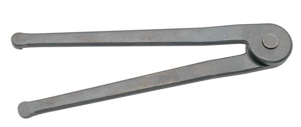 Zweilochmutternschlüssel, verstellbar, ELORA-892-5